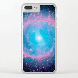 Lying in a zero circle ii Clear iPhone Case