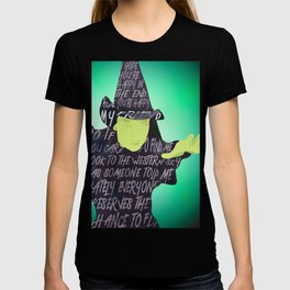 Elphaba is Defying Gravity T-shirt
