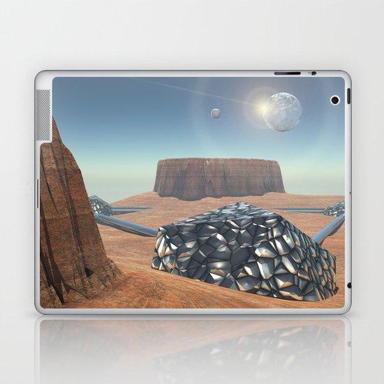 Mars Babylon Colony, view of Armageddon  Laptop & iPad Skin