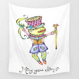 May You Dance Wall Tapestry