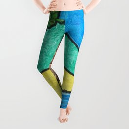 Tropical Beach Leggings
