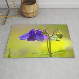 Purple Columbine In Spring Mood #decor #society6 #buyart Rug