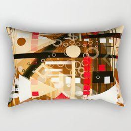 The Dark Attic Rectangular Pillow