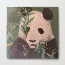 Panda Dayz Metal Print