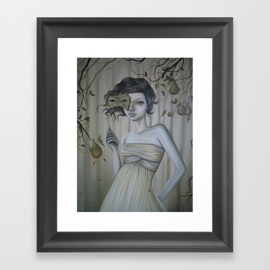 Fall Into Decay Framed Art Print