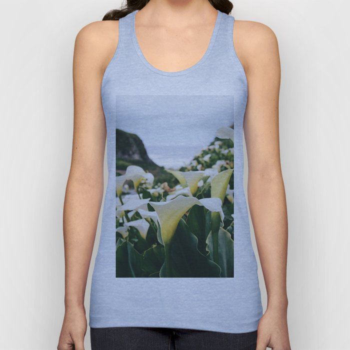 In the Flowers Unisex Tank Top