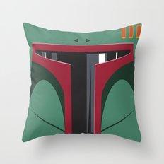 Boba Fett - Starwars Throw Pillow