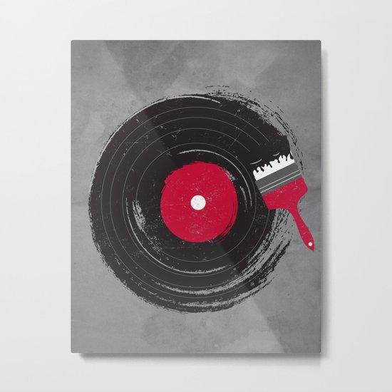 Art of Music Metal Print