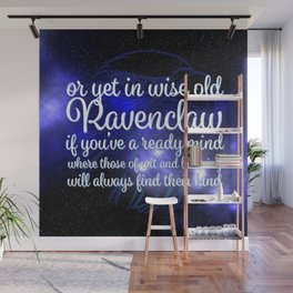 Wit and Measure Wall Mural