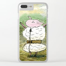 Skippy Resplendent Clear iPhone Case
