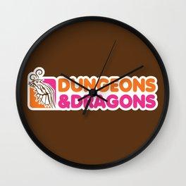 D&D All Nighter Wall Clock