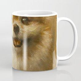 Pomeranian Painting #2 Coffee Mug
