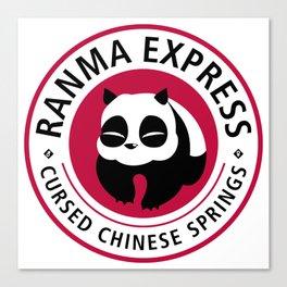 Ranma Express Canvas Print
