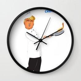 Make America Crepe Again Wall Clock