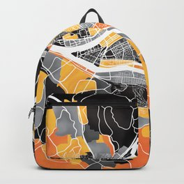 Pittsburgh Map Backpack