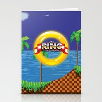 video game Stationery Cards featuring Retro Platform Video game poster  by Nick's Emporium