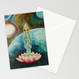 Quan Yin Stationery Cards