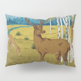 Deers B Pillow Sham