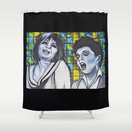 Streisand & Garland  Shower Curtain