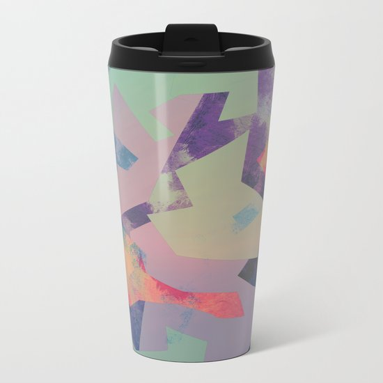 Camouflage XXXI Metal Travel Mug