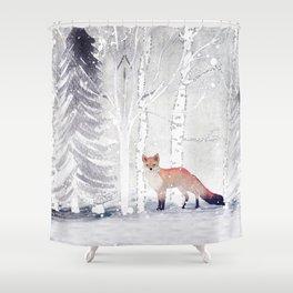 FOX FOX FOX Shower Curtain