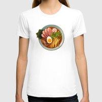 ramen T-shirts featuring Ramen by Tami Wicinas