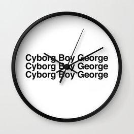 Cyborg Boy George Wall Clock