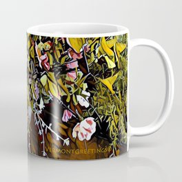 Yellow and Pink Bouquet of Flowes Coffee Mug