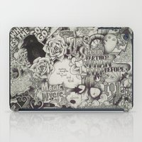 uncharted iPad Cases featuring Uncharted Actuality by Lamb