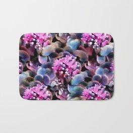 Succulent in Bloom - A Pattern Bath Mat
