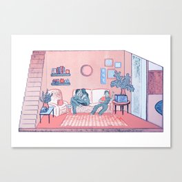 The Lounge Canvas Print