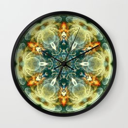 Mandalas from the Heart of Change 6 Wall Clock