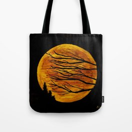 Super Moon Tote Bag