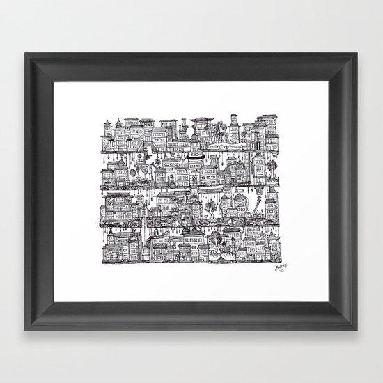 Box City  Framed Art Print