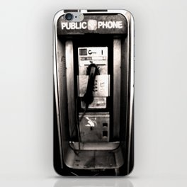 """I'm At A Payphone"" iPhone Skin"