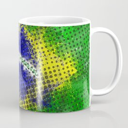 Brazil - Brazilian Flag Coffee Mug