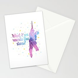 Acrobatics Shirt What If We Rewrite The Stars? Showman Stationery Cards