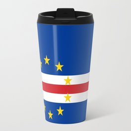 Cape Verde Flag Travel Mug