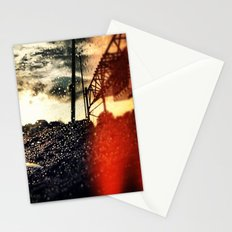 Paradise above the storm Stationery Cards