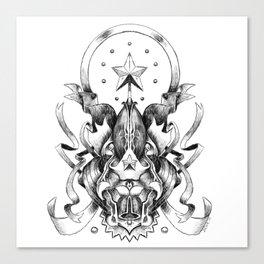 Heraldic Canvas Print