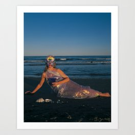 The Woman of Cups Art Print