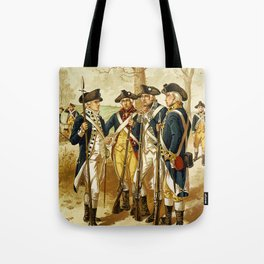Infantry: Continental Army 1779-1783 by H.A. Ogden (1879) Tote Bag