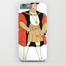 Heinrich VIII. iPhone Case