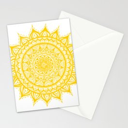 Sunflower-Yellow Stationery Cards