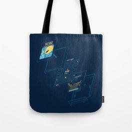 Blueprint Waka-Waka Tote Bag