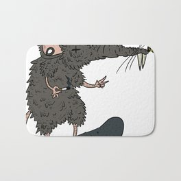 Cool Rat Coloured (best for shirts!) Bath Mat