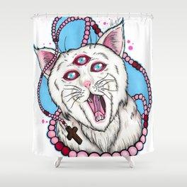 Howlin' Meower Shower Curtain