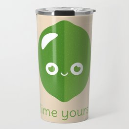 Lime Yours Travel Mug