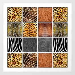 Exotic Quilt Art Print