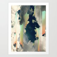 cloudvibes/ Art Print